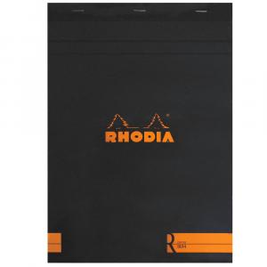 Bloco de Desenho e Notas Rhodia A4 N°18 Capa Preta