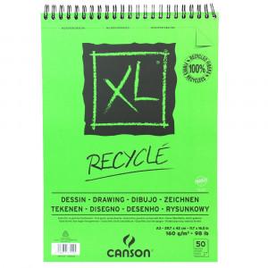 Bloco de Papel para Desenho Recyclé XL 160g/m² A3 50 folhas