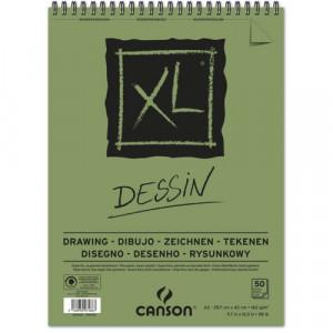 Bloco de Papel Canson XL Dessin 160g/m² A4