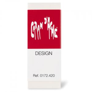 A Borracha de desenho CARAN d'ACHE Design foi especialmente desenvolvida para atender desenhistas profissionais é a melhor borracha utilizada para desenho técnico e artístico, sua maciez permite um apagar suave e eficiente sem danificar o papel.