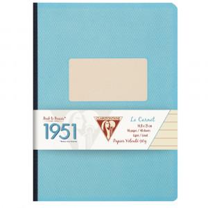 Caderno Pautado 1951 Clairefontaine A5 Turquesa
