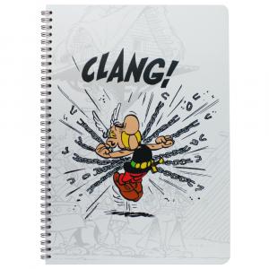 Caderno Asterix Clairefontaine A4 Guerreiro