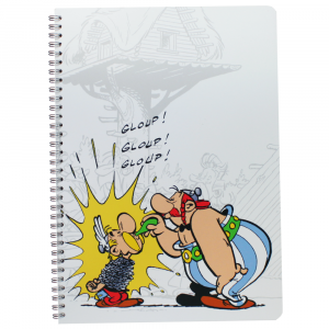 Caderno Asterix Clairefontaine A4 Obelix