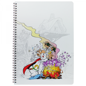 Caderno Asterix Clairefontaine A4 Panoramix