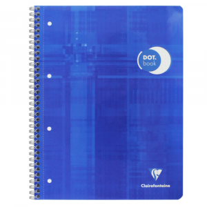 Caderno Pontilhado Dot Book Clairefontaine A4+ Azul