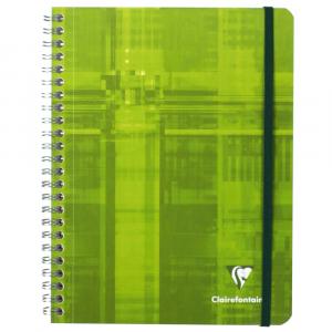 Caderno Pautado Pocket Book Clairefontaine A5+ Verde