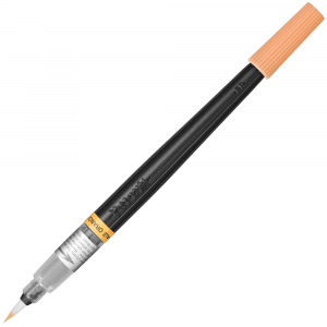 Caneta Pincel Aquarela Color Brush Pentel Pale Orange 116