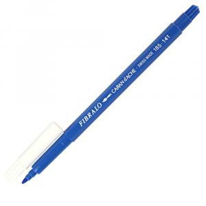 Caneta Aquarelável Fibralo Caran d'Ache Azul Pastel 141