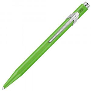 Caneta Esferográfica Caran d'Ache 849 Popline Fluo Verde