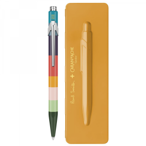 Caneta Esferográfica Caran d'Ache 849 Paul Smith Etui Orange