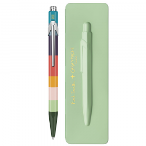 Caneta Esferográfica Caran d'Ache 849 Paul Smith Pistach Green