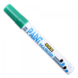 Caneta Permanente Paint Marker CKS Verde