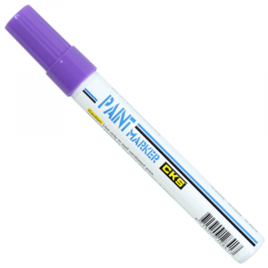 Caneta Permanente Paint Marker CKS Violeta