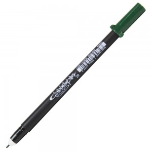 Caneta Pigma Calligrapher 20 Sakura Hunter Green