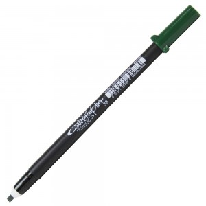 Caneta Pigma Calligrapher 30 Sakura Hunter Green