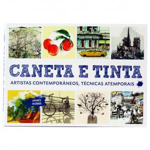 Livro Caneta e Tinta - James Hobbs