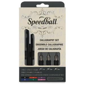 Estojo Caligrafia Caneta Tinteiro Speedball 2903