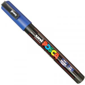 Caneta Posca Uni Ball PC-3M Azul