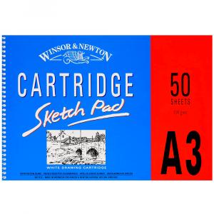 Bloco de Papel Para Desenho Winsor & Newton Sketch Pad A3