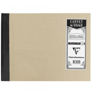 Caderno de Viagem Clairefontaine A5 Cinza