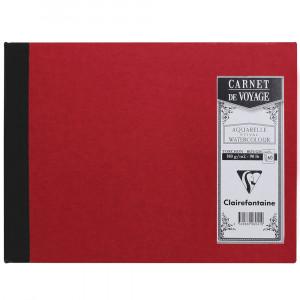 Caderno de Viagem Clairefontaine A5 Vermelho
