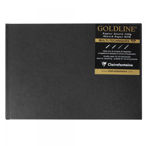 Bloco Sketchbook Goldline A5 Clairefontaine Pisagem