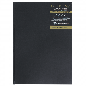 Bloco Sketchbook Goldline A4 Clairefontaine Retrato