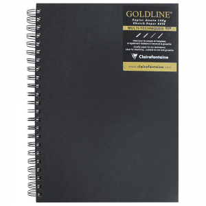 Bloco Sketchbook Goldline A4 Clairefontaine Com Espiral