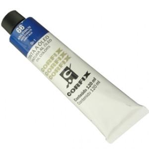 Tinta a Óleo Corfix 120ml 066 Azul Cobalto G1