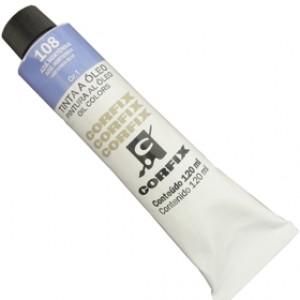 Tinta a Óleo Corfix 120ml 108 Azul Hortênsia G1
