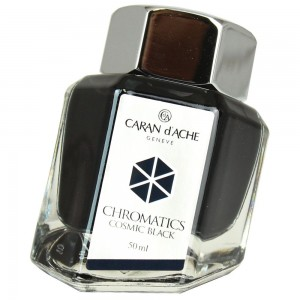 Tinta Para Tinteiro Chromatics Caran d'Ache Cosmic Black 50ml