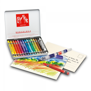 Giz Aquarelável Neocolor II 15 Cores - Creative Box