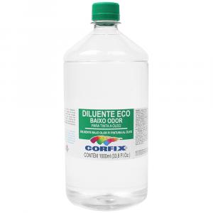 Diluente Eco Corfix 1000ml Solvente sem cheiro