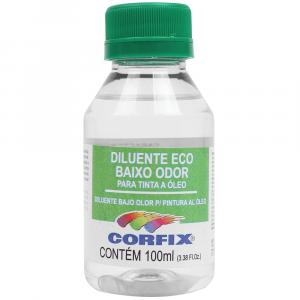 Diluente Eco Corfix 100ml Solvente sem cheiro