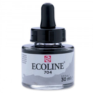 Aquarela Líquida Ecoline Talens 30ml 704 Grey