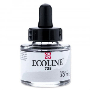Aquarela Líquida Ecoline Talens 30ml 738 Cold Grey Light