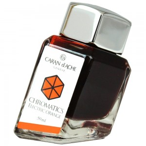 Tinta Para Tinteiro Chromatics Caran d'Ache Eletric Orange 50ml