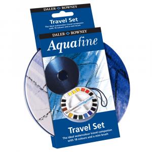 Estojo de Aquarela Pastilha Aquafine 18 Cores