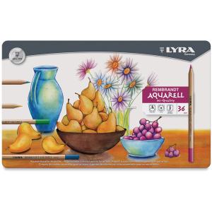 Lápis Aquarell Lyra 36 Cores