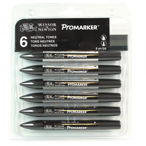 Marcador Promarker 06 Tons de Cinza Winsor&Newton