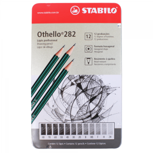 Lápis Graduado Stabilo Othello 282 12 Graduações