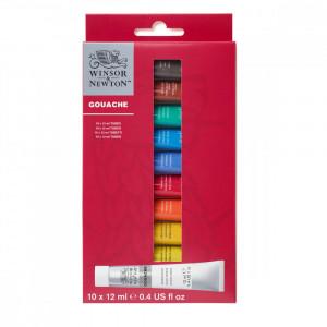 Tinta Guache Winsor & Newton 12ml 10 Cores