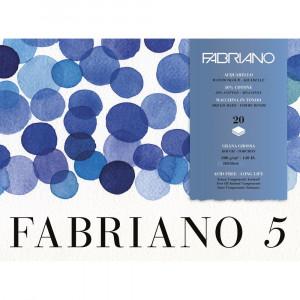 Bloco de Papel Para Aquarela Fabriano 5 GG 300g/m² 26x36cm