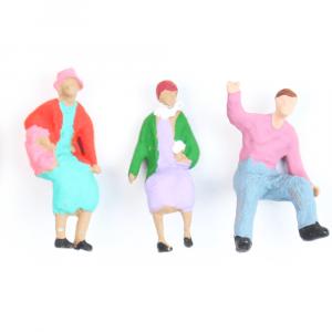 Figuras Para Maquetes 1/75 2286 Minitec 03 Peças