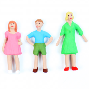 Figuras Para Maquetes 1/50 701 Minitec 03 Peças