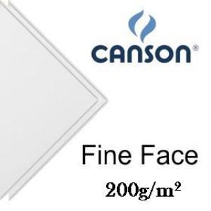 Papel Canson Fine Face Branco 200g/m² 66x96cm
