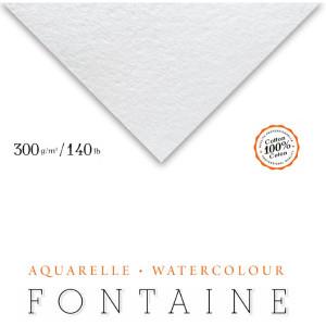 Papel Para Aquarela Fontaine Torchon 56x76cm 300g/m² Clairefontaine