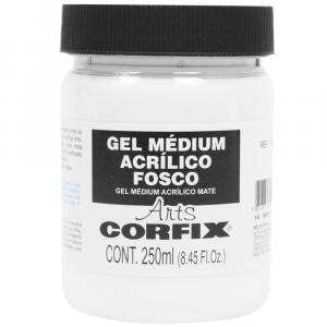 Gel Médium Acrílico Fosco Corfix Arts 250ml