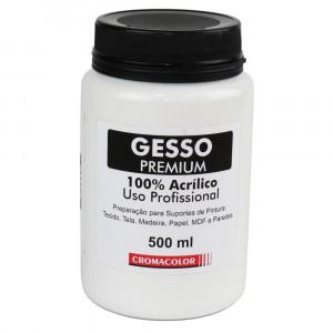 Gesso Acrílico PREMIUM Cromacolor 500ml