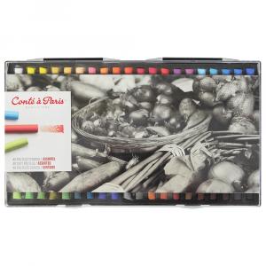Pastel Seco Conté à Paris Soft 40 Cores